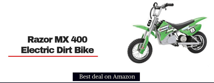 razor mx 400 motocross electric dirt bike for kids