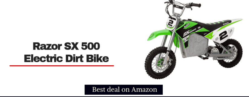 razor sx500 mcgrath electric dirt bikes for kids