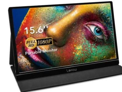 Lepow 15.6 Inch Full HD Portable Monitor