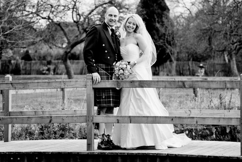 Becky and Lloyd Evesham Rugby Club Wedding