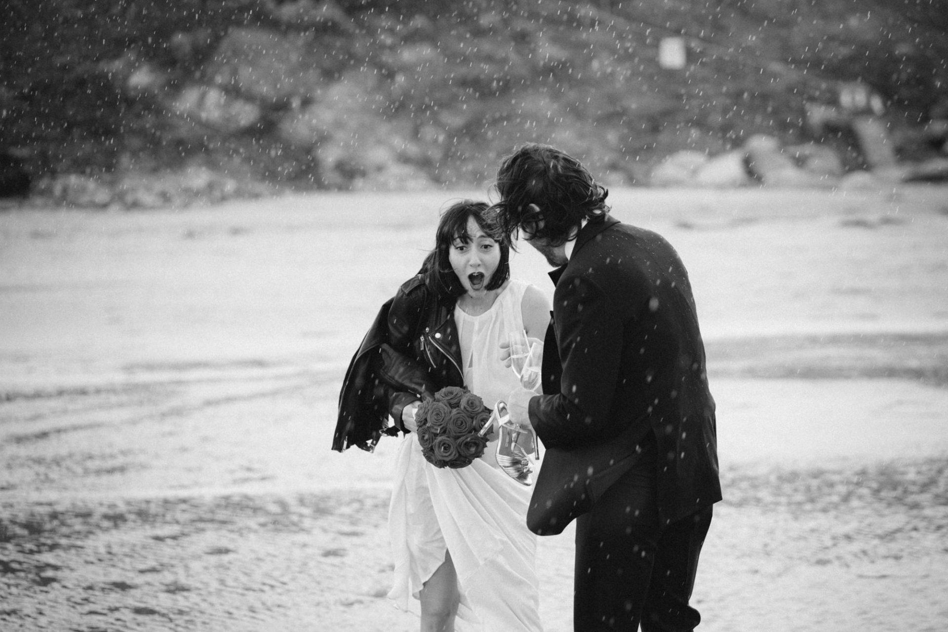 Leo Sharp Wedding Photographer Aude and Ryan The Scarlet Hotel Elopement Wedding Mawgan Porth