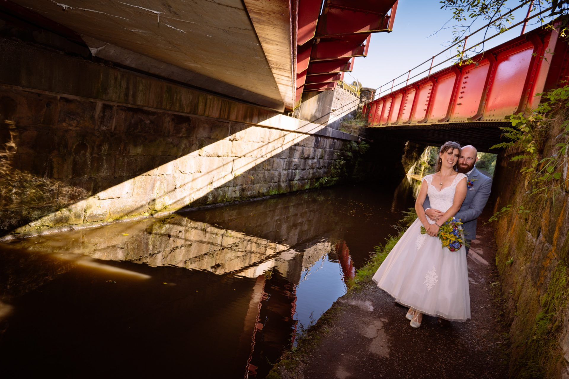 Standedge Tunnel Wedding