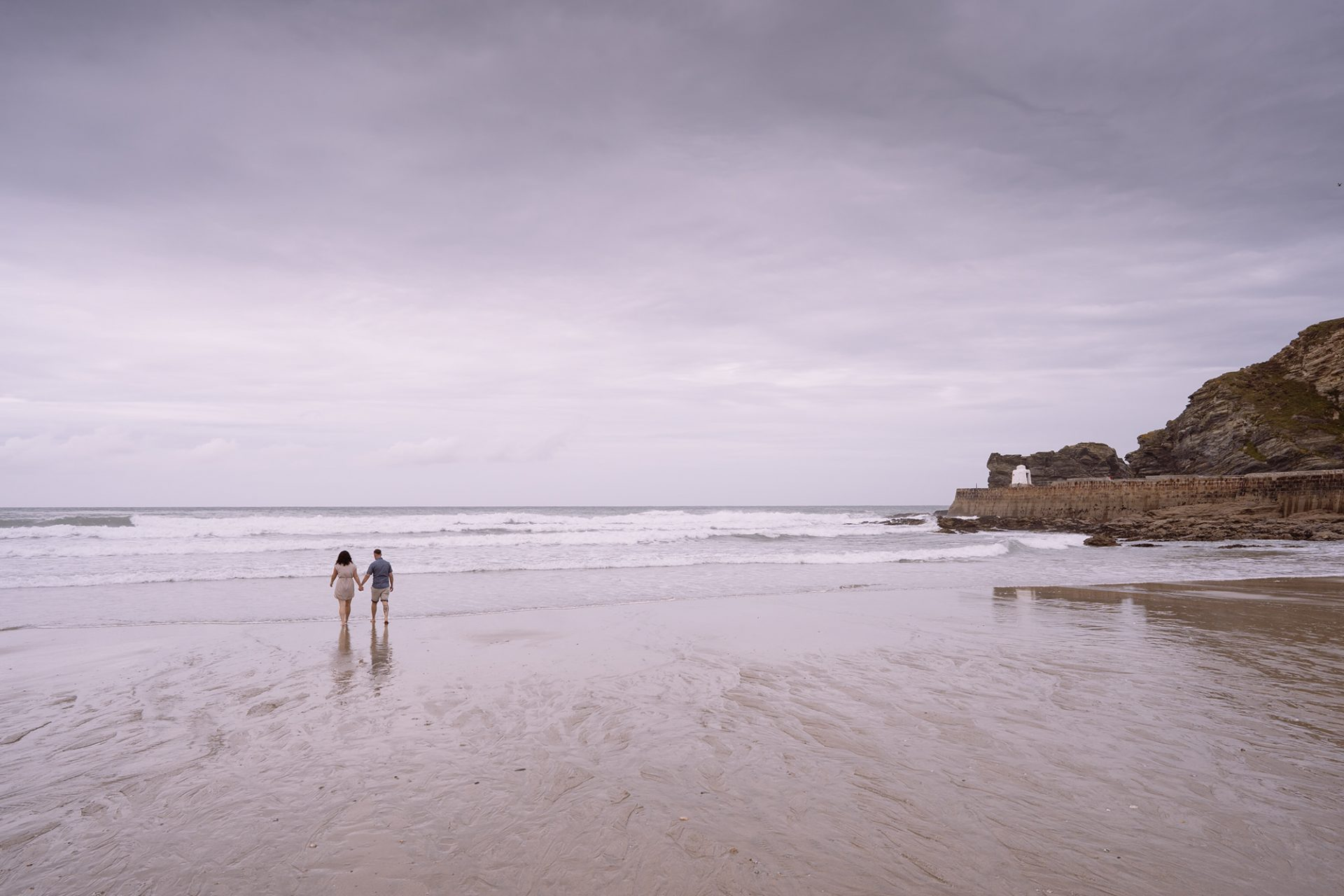 Leah and Anthony Portreath pre-wedding shoot