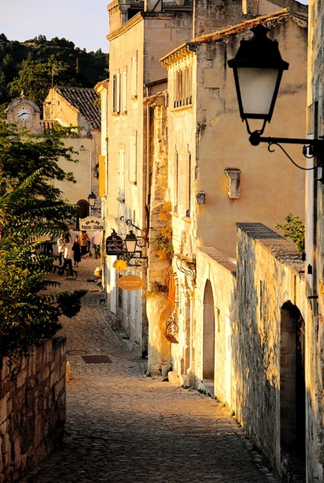 Sunset Alley, Provence, France