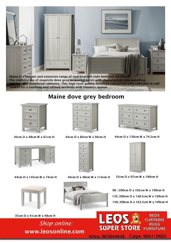 the dove grey bedroom furniture maine