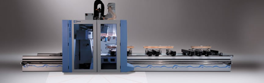 CNC Router και Κέντρο Κατεργασίας