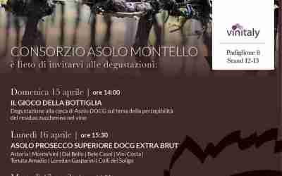 Vini Asolo Montello: si degusta