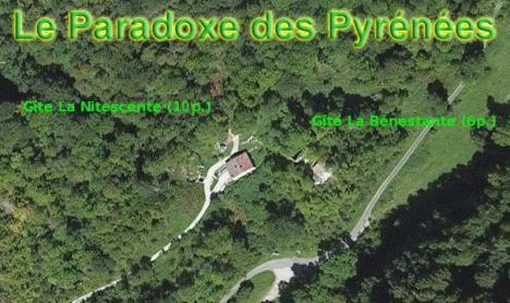 Gite France et Pyrénées au milieu des montagnes près du station de ski des Monts d'Olmes
