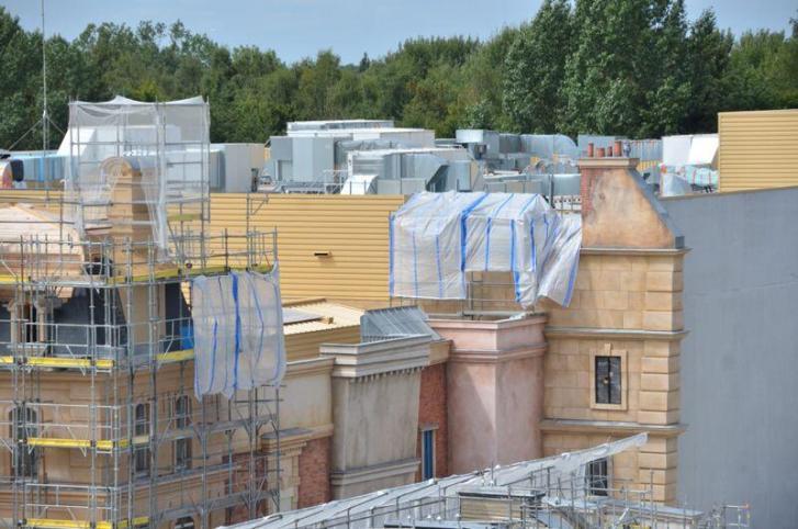Ratatouille Attraction Kitchen Calamity Disneyland Paris August