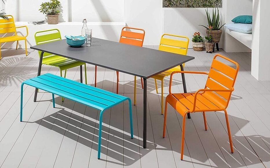 table et chaise de jardin quel
