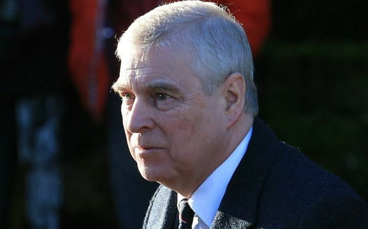 Le prince Andrew, frère du prince Charles.
