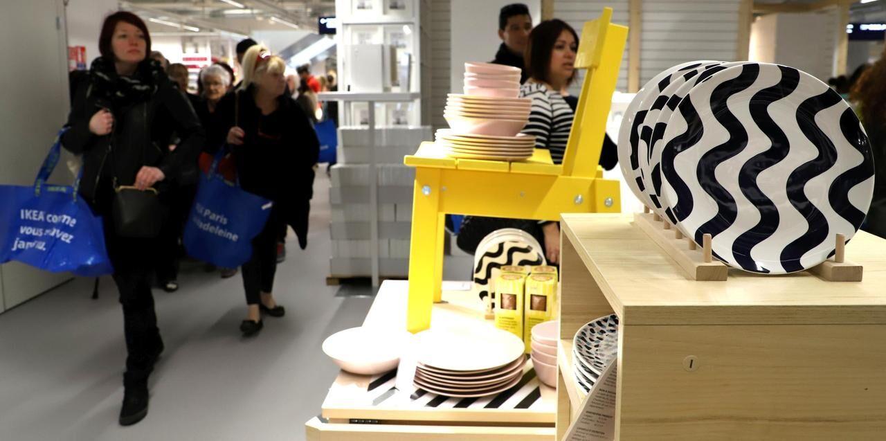 Ikea à Paris On A Visité Le Nouveau Magasin Qui Ouvre