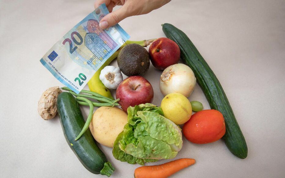 Les tarifs ont bondi en un an : + 17 % pour les légumes et + 4 % pour les fruits en conventionnel, d'après une étude de Familles rurales.