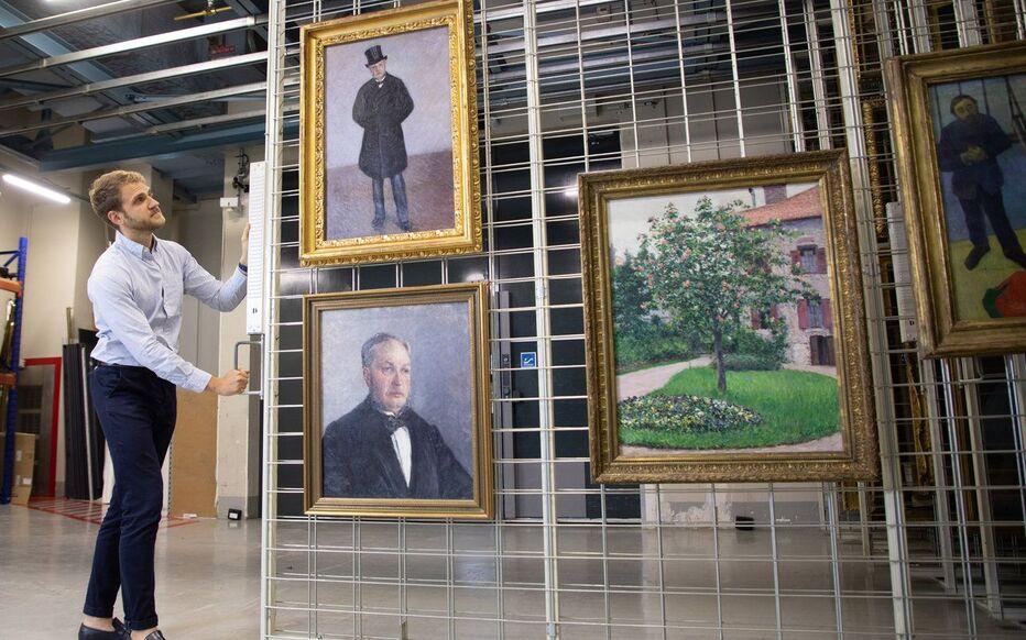 Musée d'Orsay (Paris), mardi 27 août 2019. Marie-Jeanne Daurelle a légué trois peintures et deux pastels de Gustave Caillebotte au musée des impressionnistes.