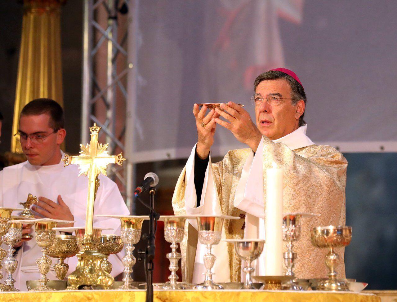 « Est-il pensable que l'on puisse considérer qu'un enfant n'a pas besoin de père ? » questionne l'archevêque sur la PMA. LP/Jean-Baptiste Quentin