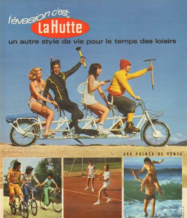 Une publicité de 1973 pour La Hutte. A cette époque le scoutisme ne représente plus que 3 % du chiffre d'affaires./DR/CAPTURE INTERNET