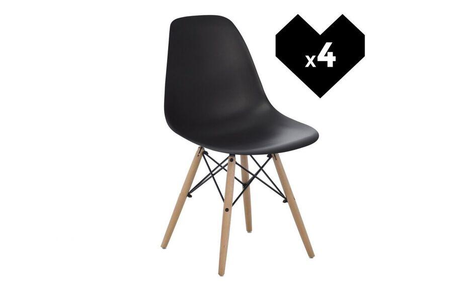 black friday ebay 4 chaises style