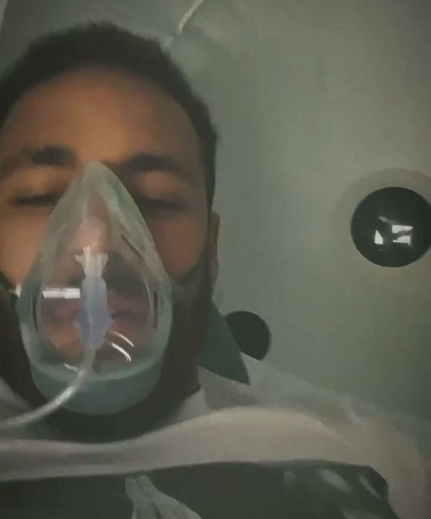Neymar in his box.  DR