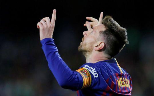 FC Barcelone-Betis Séville : le triplé incroyable de Lionel Messi en vidéo  - Le Parisien