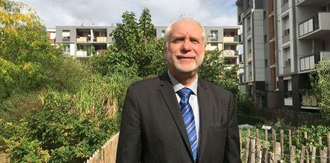 Christian Métairie maire EELV d'Arcueil et candidat à sa succession. DR