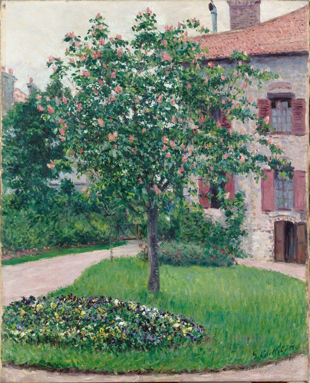 Cet « Arbre en fleurs » datant de 1882 fait partie des tableaux donnés au musée d'Orsay.RMN-Grand Palais (musée d'Orsay)/Patrice Schmidt