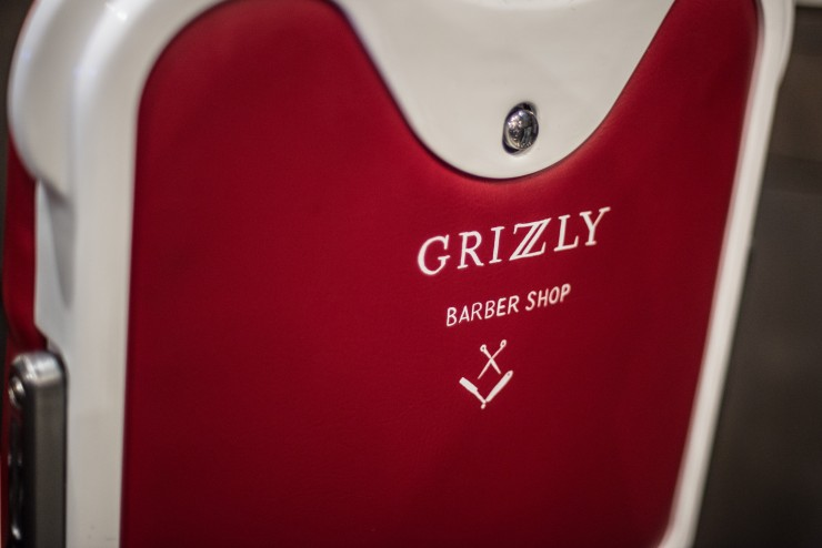 siège au Grizzly Barber Shop