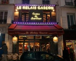 Le relais Gascon rue des Abbesses à Paris