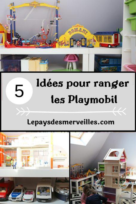 rangement des playmobil 5 idees pour