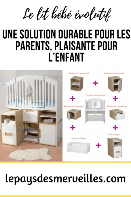 lit de bebe evolutif une solution