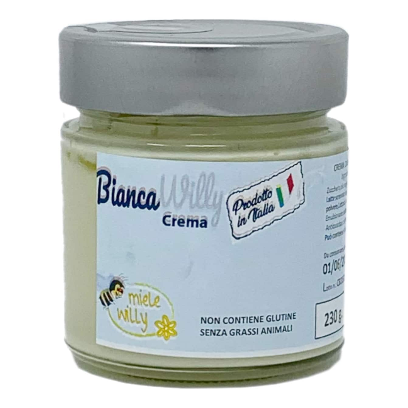 CREMA BIANCA WILLY Spalmabile 250G Miele Willy