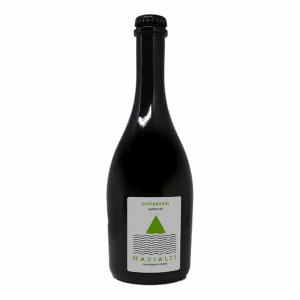 CAMPESINA Birra Artigianale Chiara non filtrata 75 CL Marialti Romagna Beer - prodotti tipici romagnoli