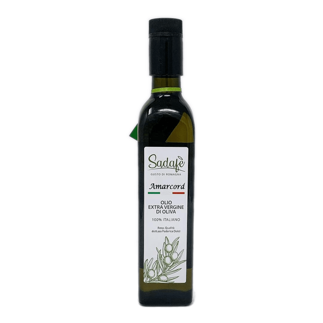 AMARCORD Olio Extravergine d'oliva Vetro 50 cl SADAFÈ - prodotti tipici romagnoli