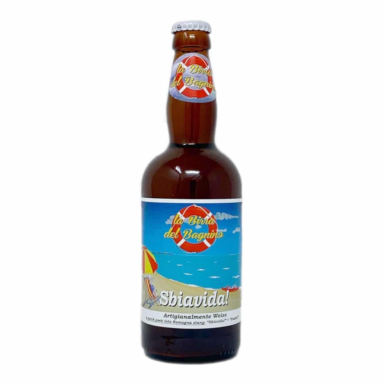 SBIAVIDA! Birra Artigianale Weiss 50 CL La Birra Del Bagnino