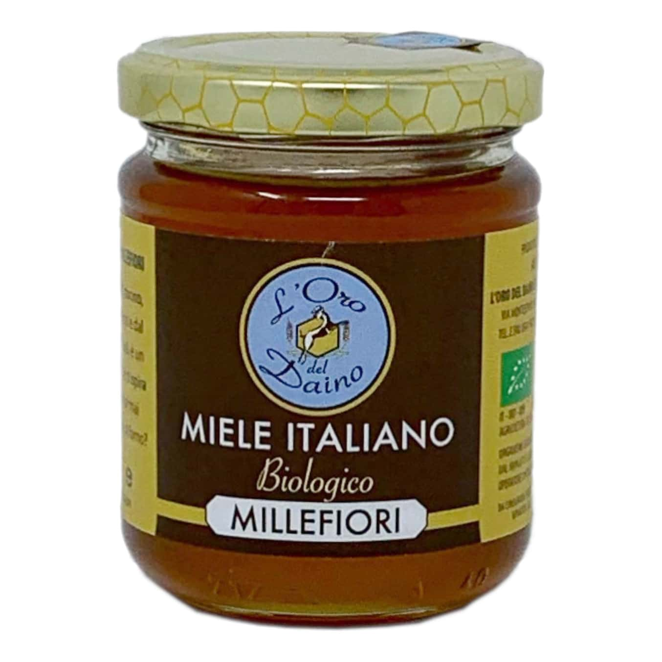 MIELE DI MILLEFIORI BIO 250GR L'Oro Del Daino