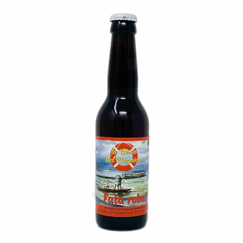 FATA ROBA! Birra Artigianale Ambrata Amber Ale 33 CL La Birra Del Bagnino