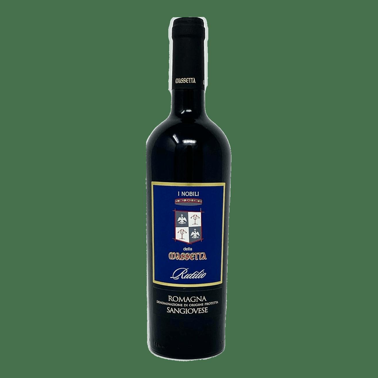 RUTILIO Sangiovese D.O.P. I Nobili della Massetta - prodotti tipici romagnoli