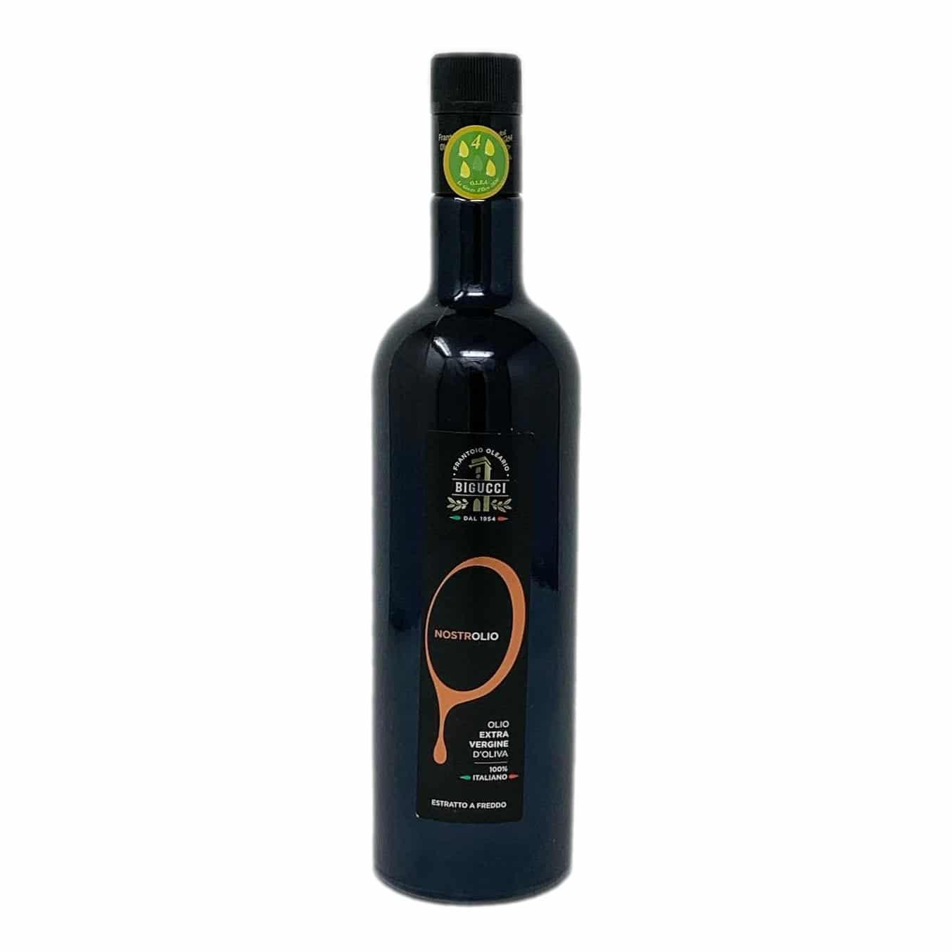 NOSTROLIO Olio Extravergine D'oliva Vetro 75 Cl BIGUCCI