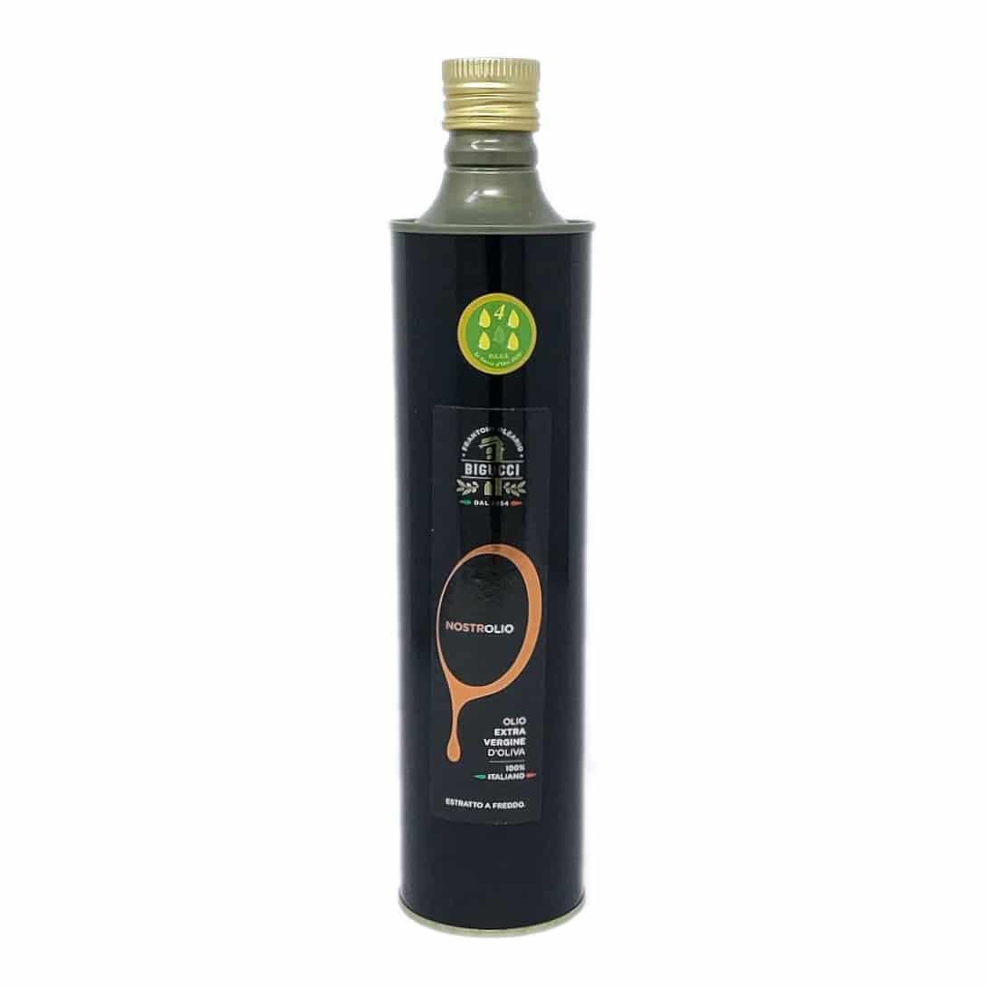 NOSTROLIO Olio Extravergine d'oliva Lattina 75 cl BIGUCCI - prodotti tipici romagnoli