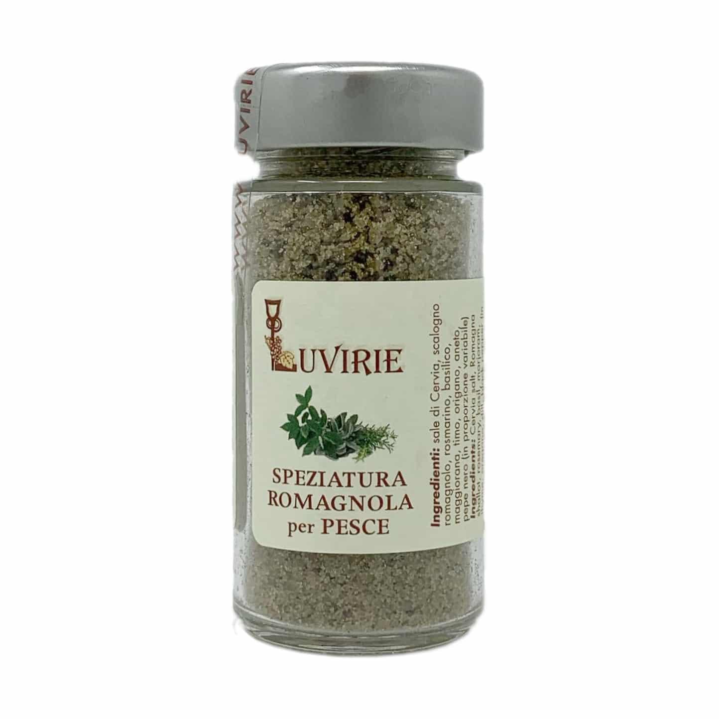 SPEZIATURA ROMAGNOLA PER PESCE 100G Luvirie - prodotti tipici romagnoli