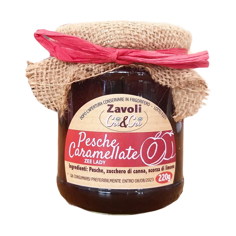 PESCHE CARAMELLATE Zavoli Cri&Cri 220GR - prodotti tipici romagnoli