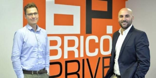 Marc Leverger et Julien Boué, les cofondateurs de Bricoprivé