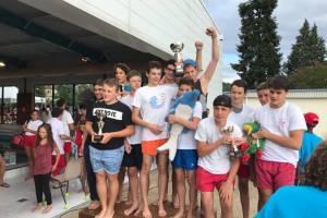 Des nageurs récompensés