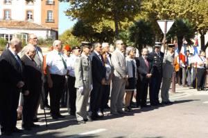 De nombreux élus pour cette cérémonie de la libération