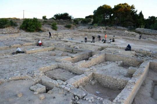 Les fouilles de l'île Saint-Martin
