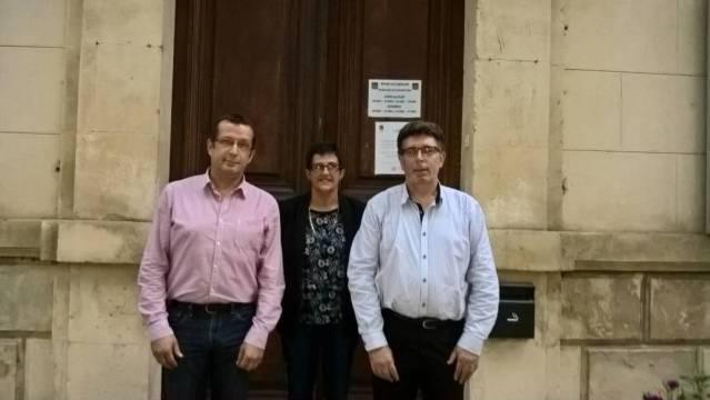 Docteur Jean Clarinval, Isabelle Géa Maire, Docteur Eric Guiu