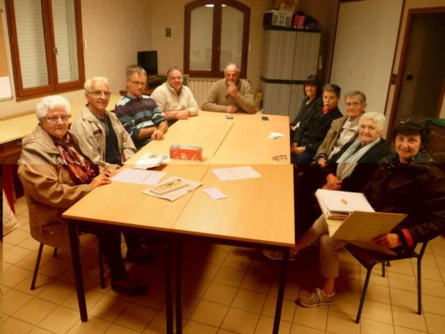 La réunion des organisateurs