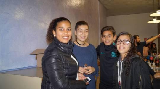 Nouali, Mounia nous commentent la visite