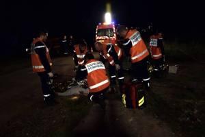 Les sapeurs sont intervenus à St Pierre Lafeuille sur les lieux du drame pour constater le décès d'un octogénaire (Image archives SDIS 46)