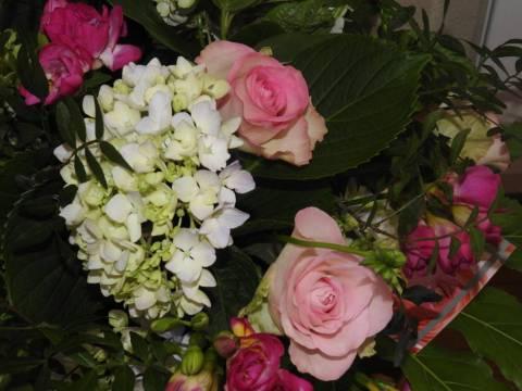 Des cadeaux floraux pour un  beau concours