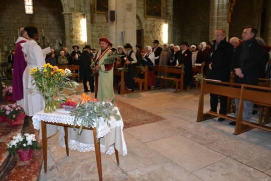 Bénédiction de l'Huile de Noël en l'église St Paul